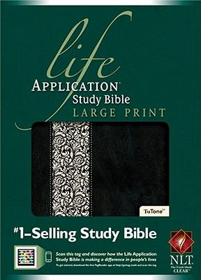 Life Application Study Bible NLT, Large Print Tutone
