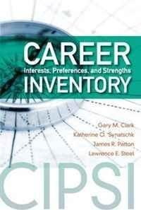 Career Interests, Preferences, and Strengths Inventory (Cipsi)