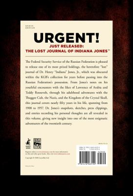 Lost Journal of Indiana Jones