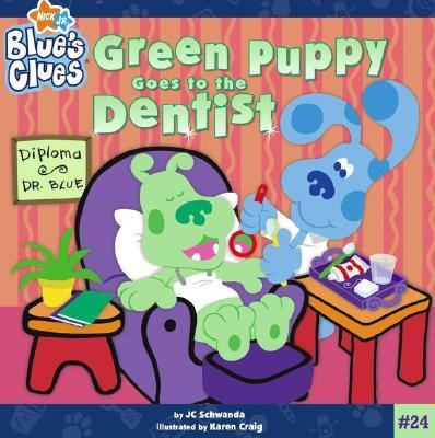 Green Puppy Goes to the Dentist