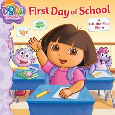First Day of School: A Lift-the-Flap Story