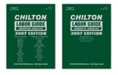 Chilton Labor Guide 2007 Domestic Vehicles and Imported Vehicles