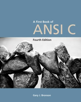 First Book of ANSI C