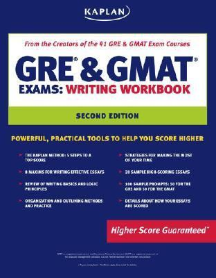 Kaplan GRE & GMAT Exams Writing Workbook