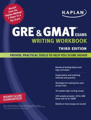 GRE and GMAT Exams Writing Workbook, 3E
