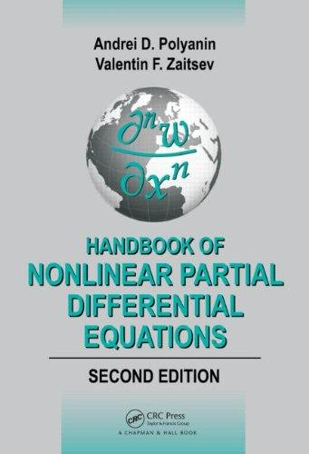 Handbook of Nonlinear Partial Differential Equations, Second Edition (Handbooks of Mathematical Equations)