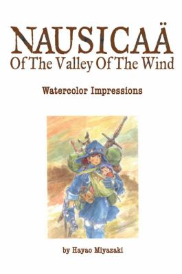 Nausicaf of the Valley of the Wind Watercolor Impressions