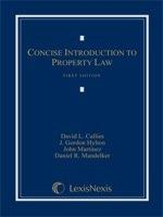 Concise Introduction to Property Law (2011)