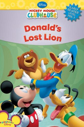Donald's Lost Lion (Mickey Mouse Clubhouse Early Reader - Level 1)