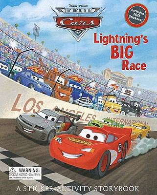 Lightning's Big Race: A Sticker-Activity Storybook