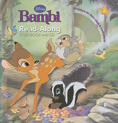 Bambi Read-along Storybook and CD