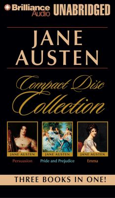 Jane Austen CD Collection: Pride and Prejudice, Persuasion, Emma