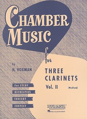 Three Clarinets - Volume 2 (Medium): Full Score