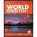 World English 1: Real People, Real Places, Real Language