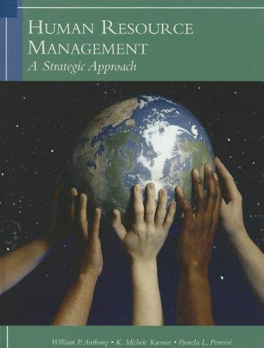 Human Resources Management: A Strategic Approach, 6th Edition