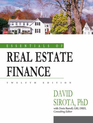 Essentials of Real Estate Finance, 12th Edition