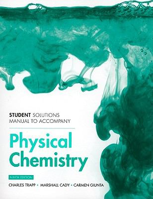 Student Solutions Manual for Physical Chemistry