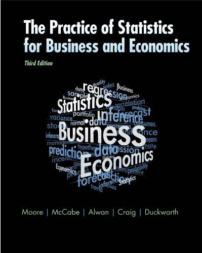 The Practice of Statistics for Business and Economics: w/Student CD