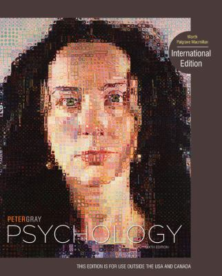 Psychology International Edition Sixth By Peter Gray