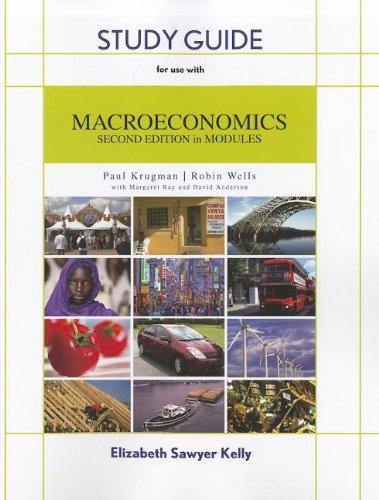 Study Guide to Accompany Macroeconomics, 2nd Edition
