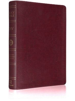 ESV Large Print Bible (TruTone, Burgundy)