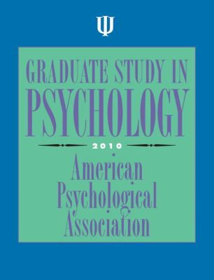 Graduate Study in Psychology, 2010