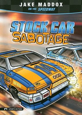 Stock Car Sabotage (Impact Books)