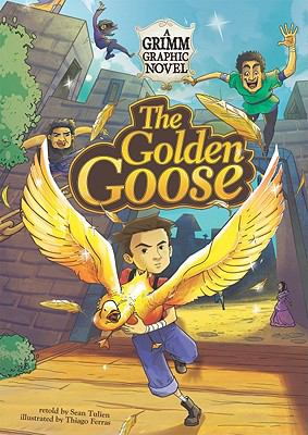 The Golden Goose: A Grimm Graphic Novel (Graphic Spin)