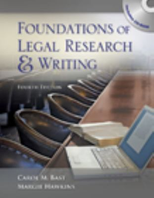 Foundations of Legal Research Handwriting