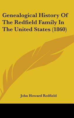 Genealogical History of the Redfield Family in the United States (1860)