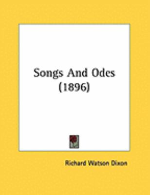 Songs And Odes (1896)