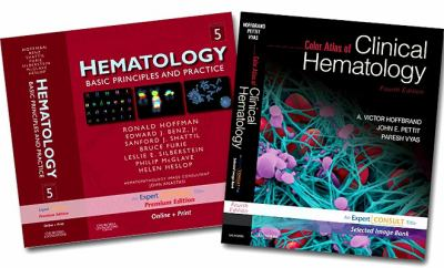 Hoffman, Hematology, Expert Consult Premium Edition - Enhanced Online Features and Print, 5e and Hoffbrand, Color Atlas of Clinical Hematology, Expert Consult - Online and Print, 4e Package