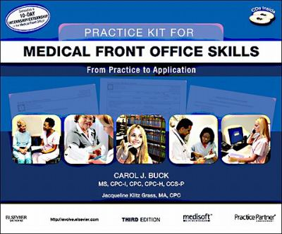 Practice Kit for Medical Front Office Skills with Medisoft Version 16 and Practice Partner V 9. 3. 2