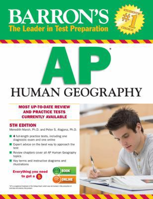 Barron's AP Human Geography, 5th Edition