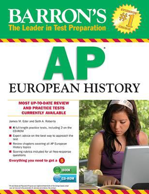 Barron's AP European History with CD-ROM, 7th Edition