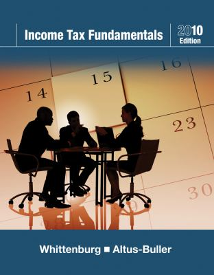 Income Tax Fundamentals 2010 (with Taxcut Tax CD-ROM)
