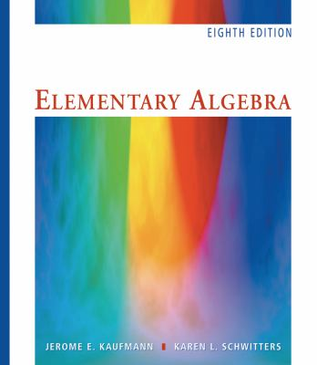 Elementary Algebra, Revised (with Interactive Video Skillbuilder CD-ROM and iLrn Student Tutorial Printed Access Card)