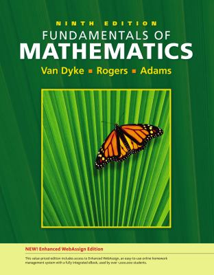 Fundamentals of Mathematics, Enhanced Edition (with Enhanced WebAssing 1-Semester Printed Access Card)
