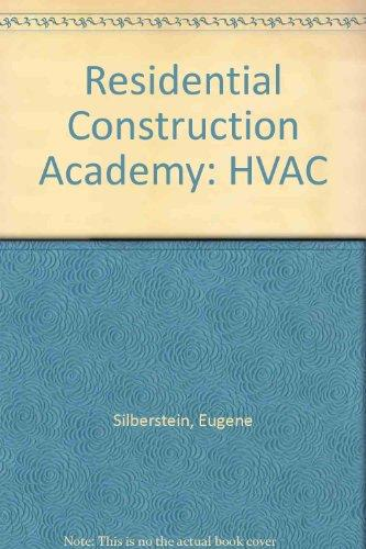Residential Construction Academy: HVAC DVD Set (1 - 4)