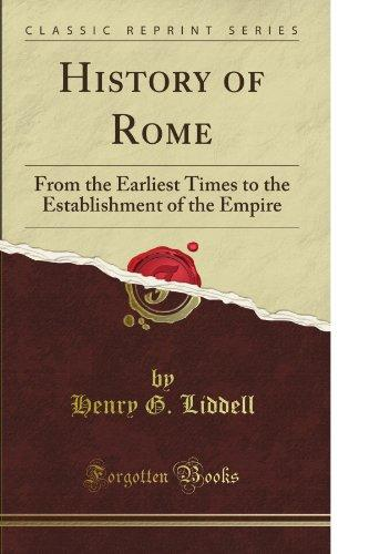 History of Rome (Classic Reprint)