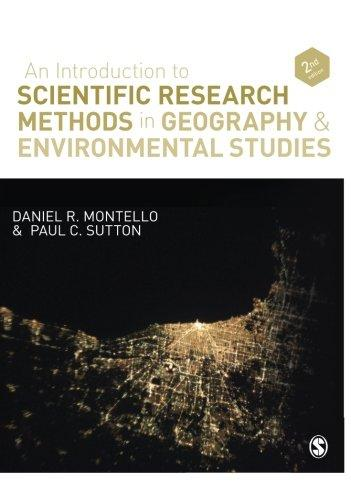 An Introduction to Scientific Research Methods in Geography and Environmental Studies