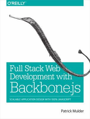 Developing Web Applications with Backbone. Js