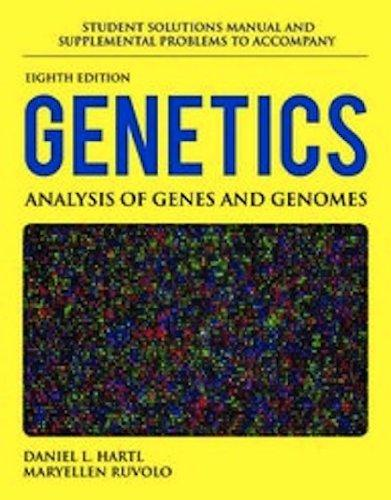 Student Solutions Manual And Supplemental Problems To Accompany Genetics: Analysis Of Genes And Genomes