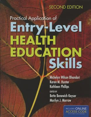 Practical Application of Entry-Level Health Education Skills