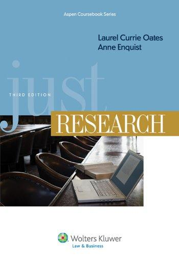Just Research, Third Edition