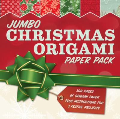 Jumbo Christmas Origami Paper Pack : 285 Sheets of Origami Paper Plus Instructions for 3 Festive Projects