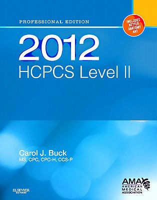 HCPCS 2012 Level II: Professional Edition (Hcpcs (American Medical Assn))