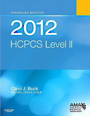 HCPCS 2012 Level II: Standard Edition