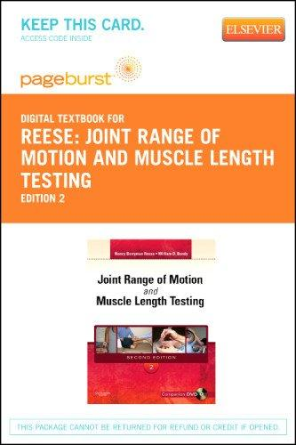 Joint Range of Motion and Muscle Length Testing - Pageburst E-Book on VitalSource (Retail Access Card), 2e