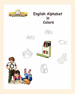 English Alphabet in Colors